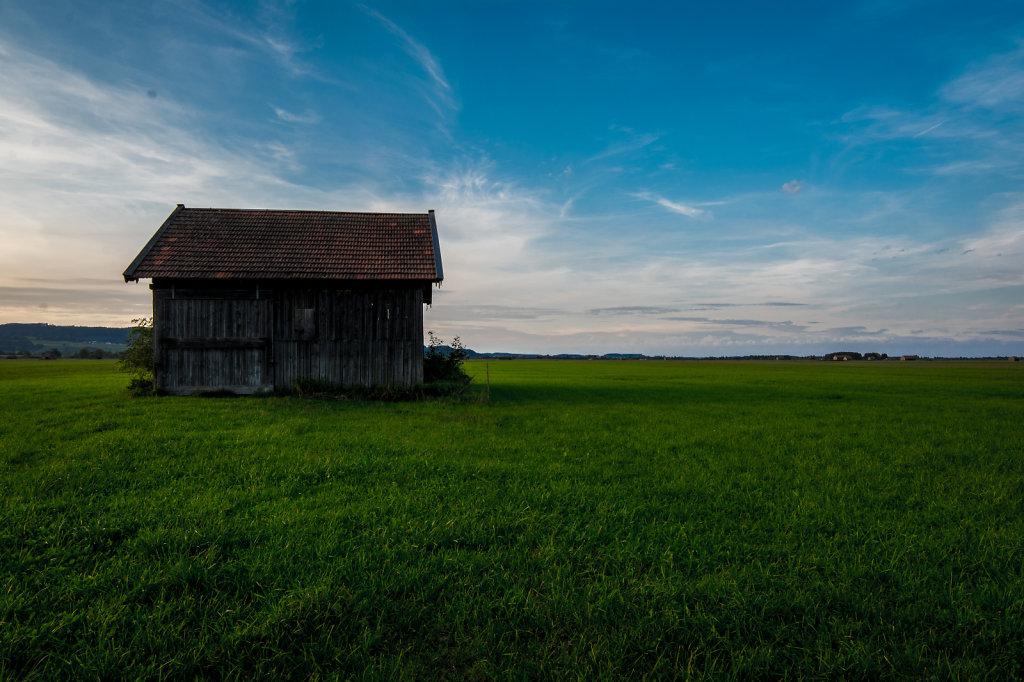 a barn in bavaria, germany