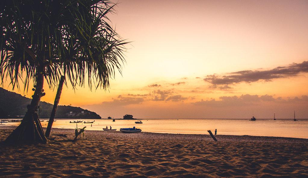 Beach at Phuket, Thailand